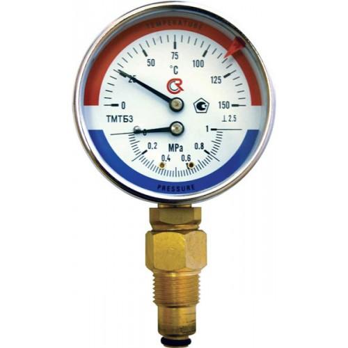 Термоманометр ТМТБ-31Р.1 (0-120) (0-0.6МРа) G1/2.2.5